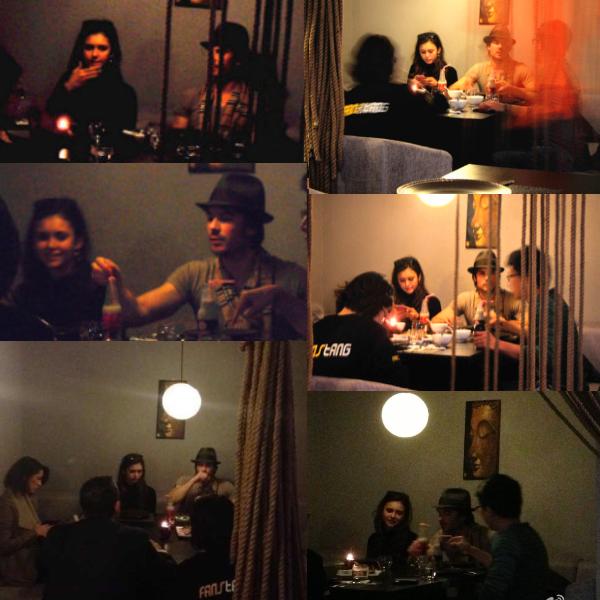 28/12/2012 Nina & Ian déjeunaient dans le restaurant FirsThai toujours à Shangaï