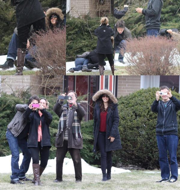 31/03/2013 Nina & Ian sont allés rendre visite à la famille de Nina pour les fêtes de Pâques à Toronto au Canada