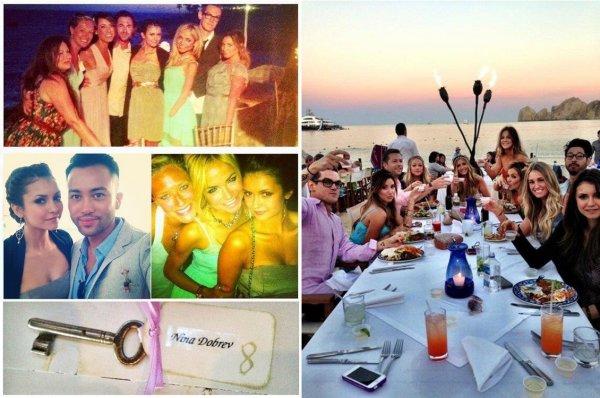 20-21/04/2013 Nina était au mariage de Nikki & Chris, ses amis à Cabo San Lucas
