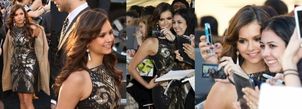 01/05/2013 Nina était à l'avant-première mondiale du film The Great Gatsby au Avery Fisher Hall à Lincoln Center à New York