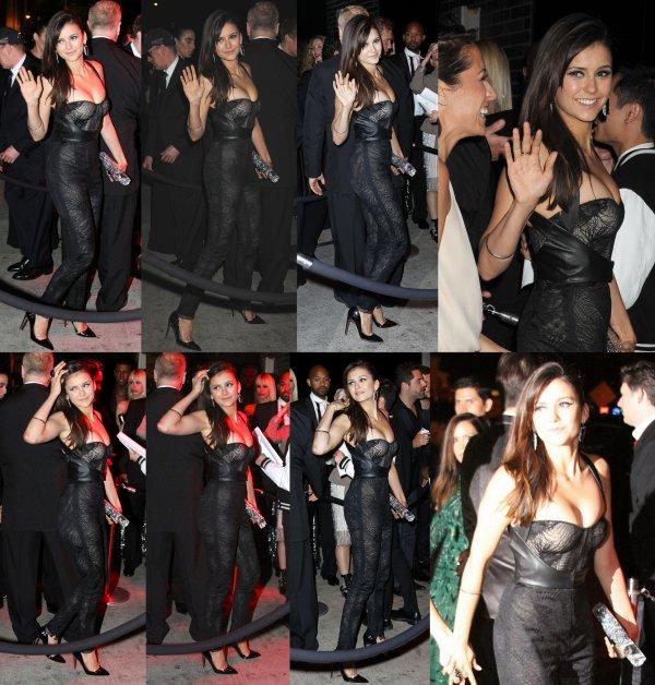 06/05/2013 Nina arrivant au Trump Soho Hôtel à New York