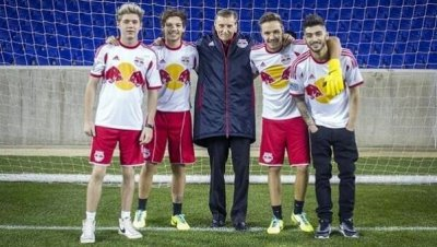 The boys at Red Bull Arena