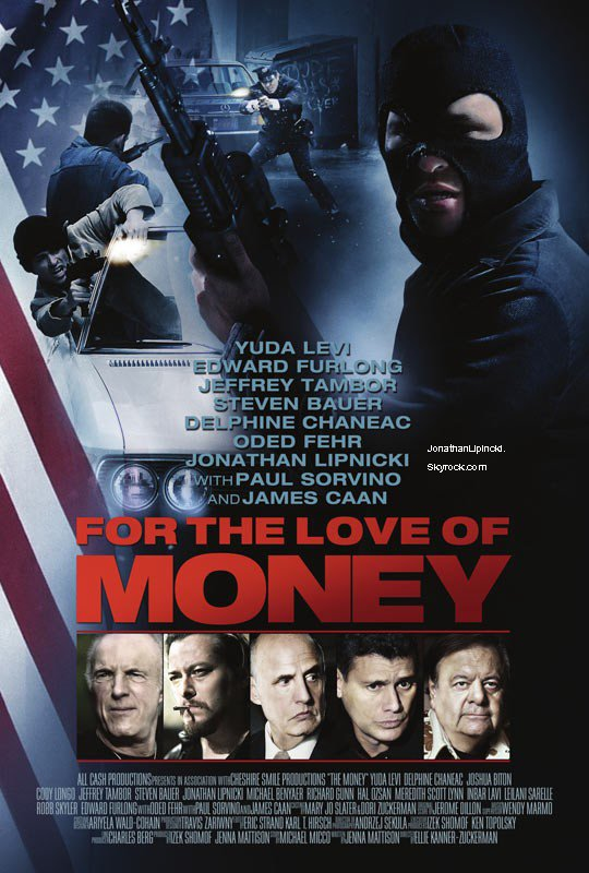 "Nouvelle photo twitter de Jonathan & Bande annonce de ""FOR THE LOVE OF MONEY"""