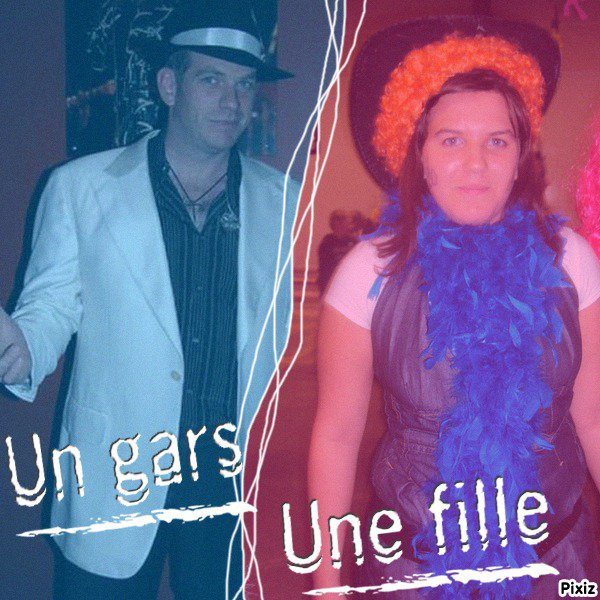 Garou et moi (photo montage)