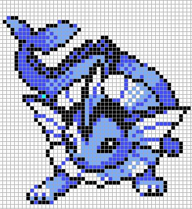 Articles De Full Of Pixelart Tagges Pokemon Pleins De Modeles De
