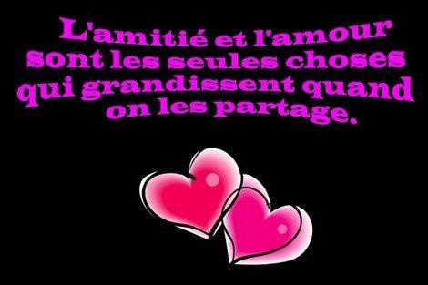 L'amitier et L'aour