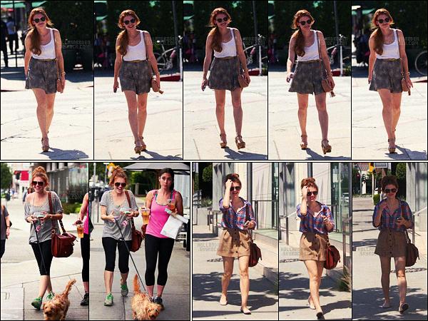 » 23/07/12 - Holland Roden a été photographiée allant se chercher un café, c'était dans Los Angeles.  +Le 18/07, Holland a été vue promenant son chien avec une amie à LA. Le 16/07, elle avait été aussi vue dans West Hollywood, CA