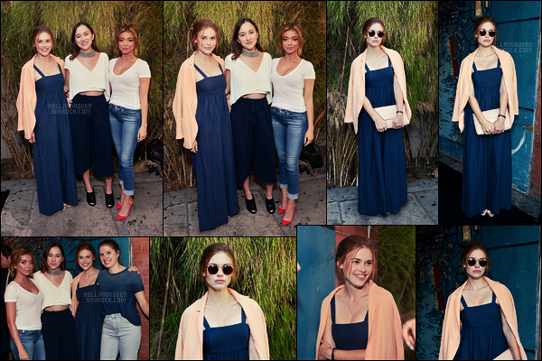 ● Le 10/08, Holland Roden était au dîner  Glamour And AG Denim & Music dans Los Angeles.