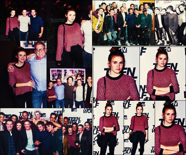 » 21/09/17 - Holland Roden était à la soirée du 100e épisode de Teen Wolf, organisée dans Los Angeles. • Personnellement, je suis totalement amoureuse de la tenue qu'Holland a choisi de porter, + Cette soirée mettait un point final à la série