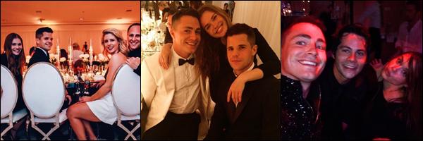 ● Le 27/10, Holland Roden était invitée au mariage de  Colton Haynes avec d'autres célébrités.