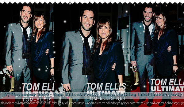 Sortie : Tom ellis en 2007, 2008 & 2009  on adorabletomandlindsey.sky