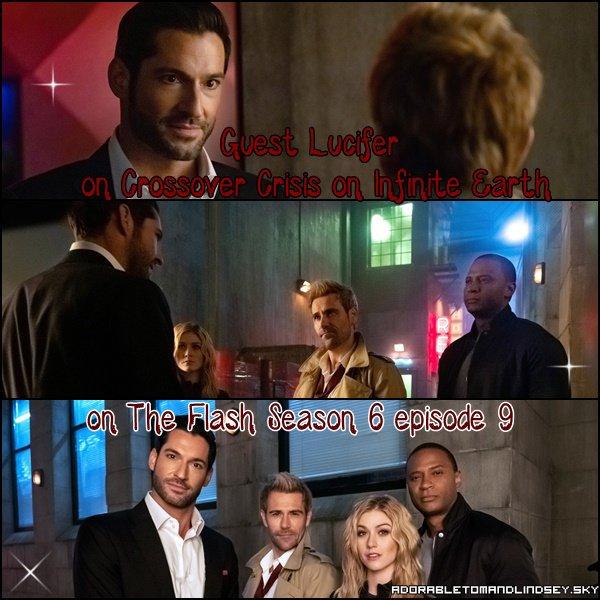 Guest : Lucifer Morningstar on Crisis on infinite earth on the flash saison 6 episode 9 on adorabletomandlindsey.sky