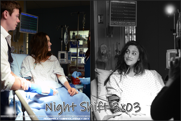 Guest : Night Shift 3x03 as Krytal on adorabletomandlindsey.sky