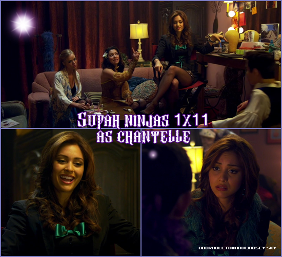 Series : Supah Ninjas 2011 1x11 as chantelle on adorabletomandlindsey.sky