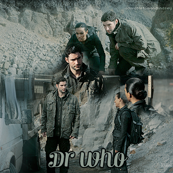 Guest : Tom Ellis as Thomas Miligan dans Dr Who 2007 on adorabletomandlindsey.sky