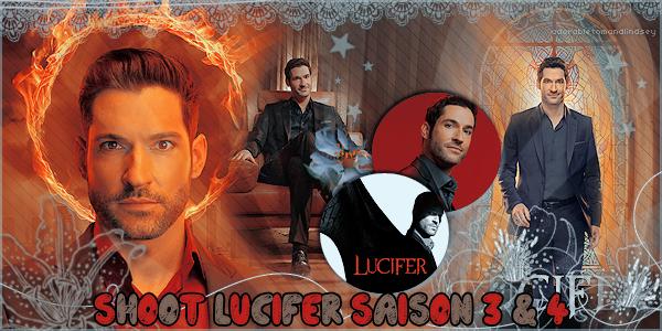 Photoshoot : Personnages Lucifer Saison 1 à 4 avec Tom Ellis on adorabletomandlindsey.sky