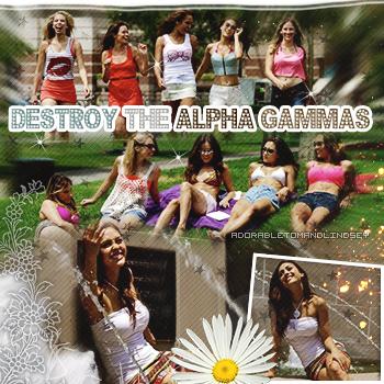 Web-Series : Destroy the Alpha Gammas on adorabletomandlindsey.sky