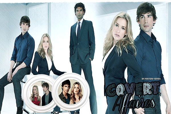 Covert Affairs on Mystery-series.sky