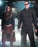 Kara & Mon-EL on mystery-series.sky