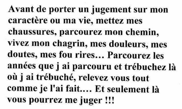 Pour la vie !!!!!