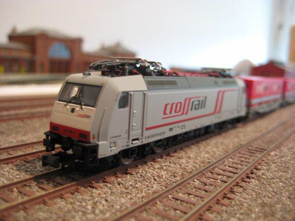 BR 185 Crossrail Minitrix