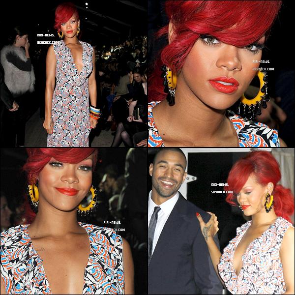 ".  06/10/10 - Rihanna Au defilé ""Miu Miu"" a Paris et en ""Dinner Amoureux"" avec Matt kemp Sa Tenue TOP/FLOP?!??dites moi tout  ."