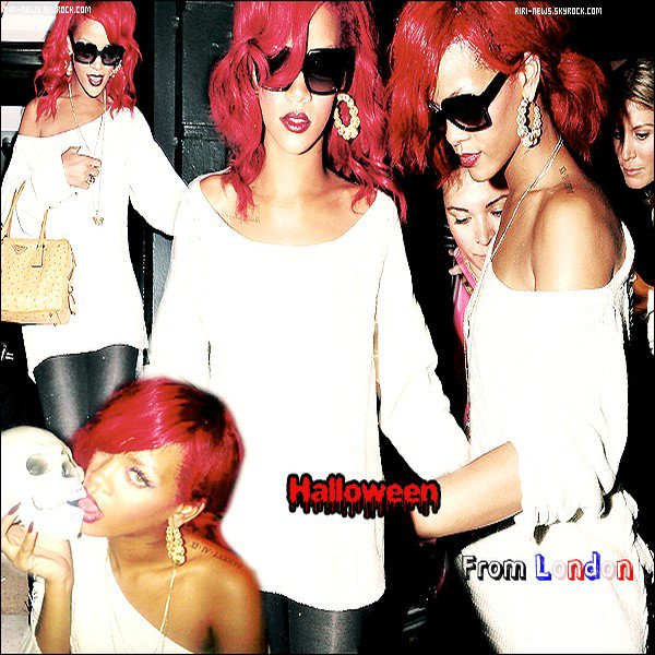". 31/10/10 Rihanna quittant son hotel et se rendant au ""Whiskey Mist Nightclub"" Top ou Flop??lacher vous!."