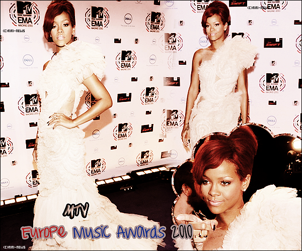 . 07/11/10 Rihanna au Mtv's Europe Music AwardsTop ou FlopRi.