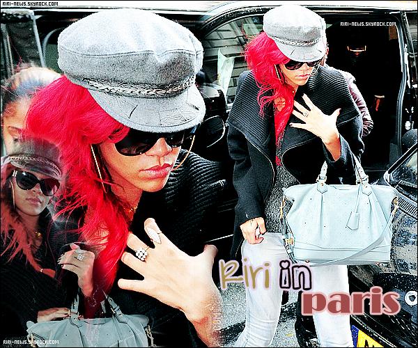 """. 10/11/10 Rihanna fesant du shopping et se rendant au plateau """"Canal +"""" a ParisTop ou FlopLacher vos impression."""