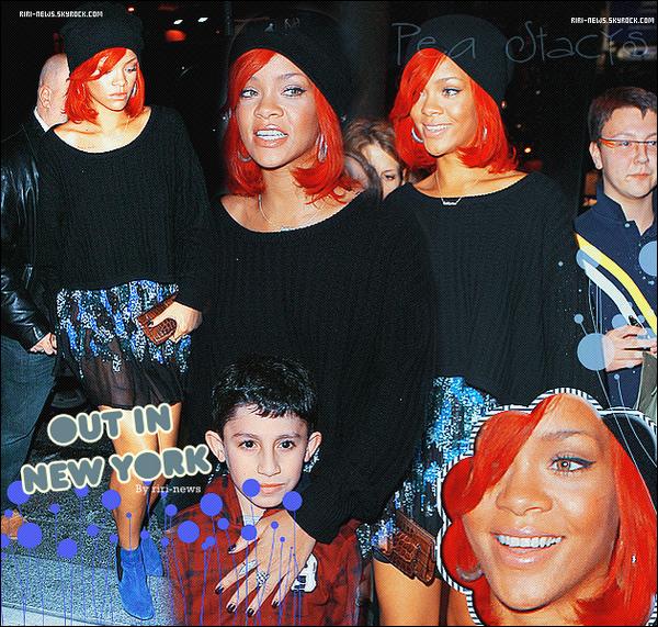 . 13/11/10 Rihanna a été vue se rendant dans un Restaurant a N.Y.CTop or FlopLacher vos impression.
