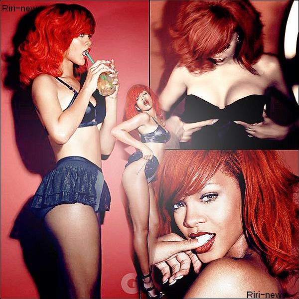 """. 2/12/10 Voici le Photoshoot Complet du """"GQ magazine"""" Rihanna est SexyTop Or Flop."""