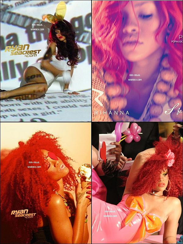 """. Voici des photos extraite du vidéo clip de """" S&M""""  ."""
