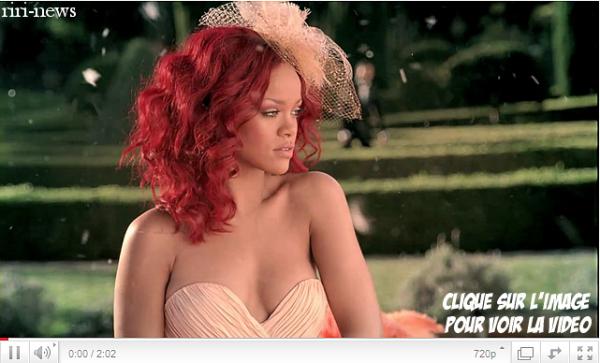""". Decouvrez le sport publicitaire du parfum """"Reb'l Fleur By Rihanna"""" ."""