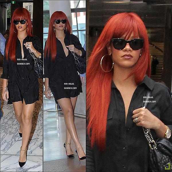 . 01/03 Rihanna a Ete vu fesant du shopping a Sydney , Australie . Top Ou Flop ?Rihanna qui aille dejeuner au restaurant Beppi's Photos  .