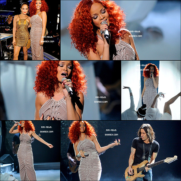 . 14/04/2011 RiRi a chanté « California King Bed » au American Idol . Sa prestation était parfaite,  .