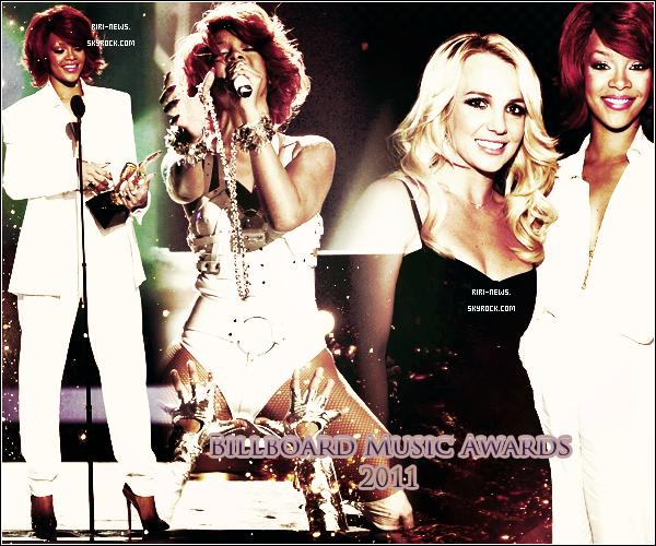. 22/05/11 Hier se derouler les BillBoard Music Awards , Riri a chanter S&M avec Britney Spears un superbe Duo de chocJe trouve Rihanna tres splendide avec sa tenue blanche et vous ? La Performance .