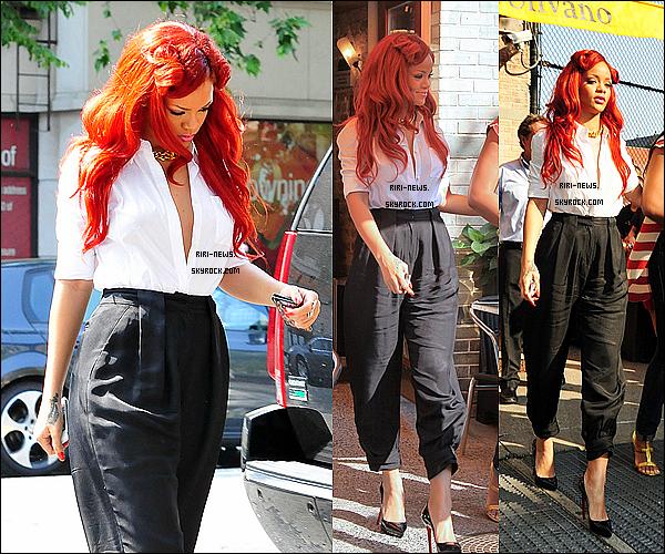 . 27/05/11- Rihanna quittant le restaurant Da SILVANO , Arrivant chez Bang Bang , et Quittant son Hotel dans la soirée a New YorkRihanna va se faire un nouveau Tattoo chez Bang Bang  .