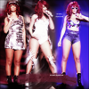. 28,29/06/11- Le Loud Tour continue toujours cette fois-ci a L.A et anaheim,Californie , Top ou flop ?Rihanna ete surprenante sur scene , avec sa nouvelle coupe ! TOP .