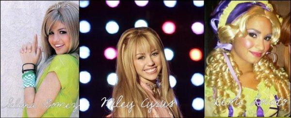 Rubrique & Peoples : Coiffure ~ Pérruque Blonde  -> Selena Gomez , Miley Cyrus , Demi Lovato