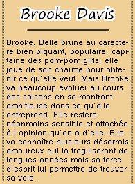 Sophia Bush est Brooke Davis