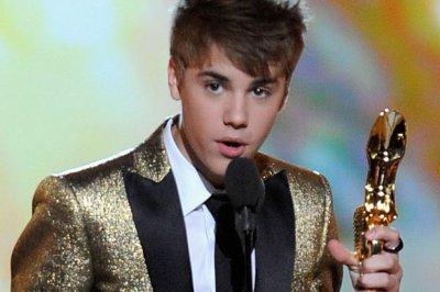 Justin Bieber at  BillBoard Music Awards 2011