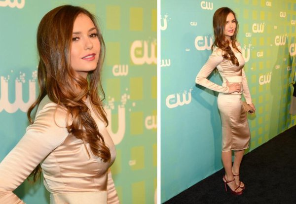 Nina Dobrev - The CW Network's New York 2012 <3