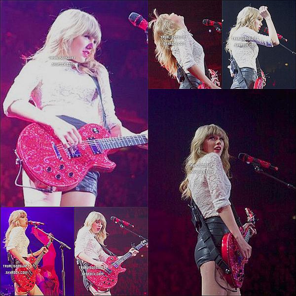 .10.03.13 : Taylor a donnée son premier concert du RED TOUR à Omaha, Nebraska. .