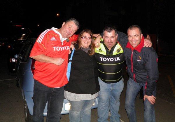 Après Match Castres Olympique/Munster