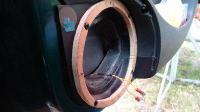 Fabrication et montage de cales pour les hp avant