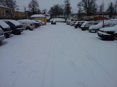Petite neige chez moi