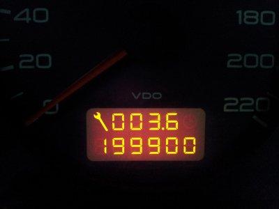 Aille aille aille les 200 000 km sont arrivés!!!