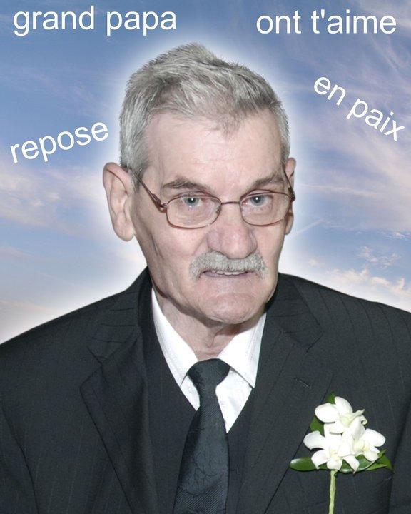 mon grand pere qui est décédé le 23 avril 2011