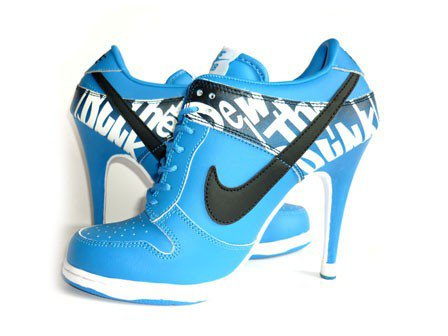 Nike Dunk Heels Low Do The Dew Blue Shoes