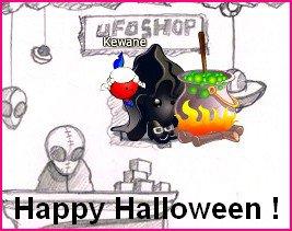 Happy Halloween les jeun's ! <3
